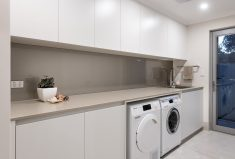 Check this laundry in a Perth custom built home.